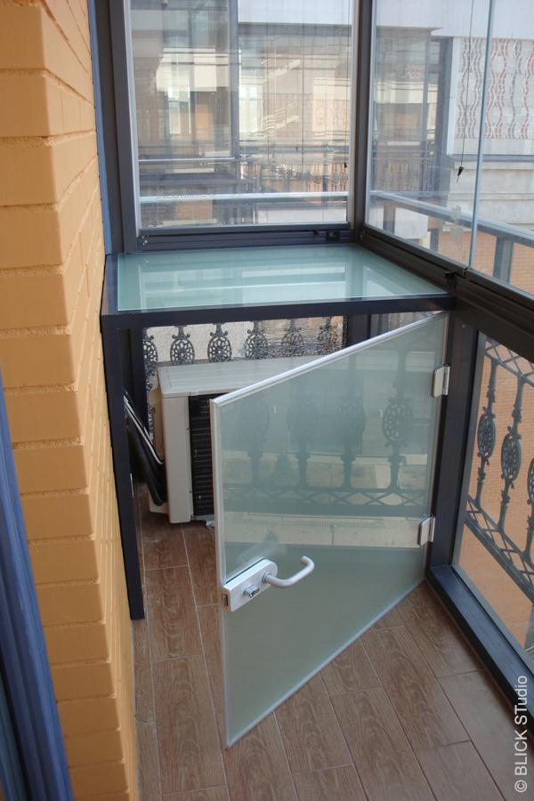Как установить кондиционер на балконе..